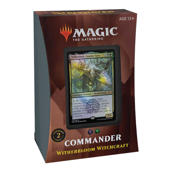 Commander 2021 Witherbloom Witchcraft (B/G)