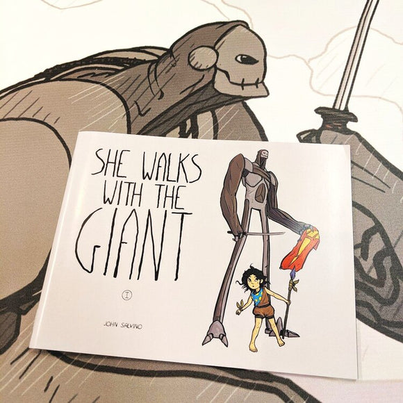 She Walks With The Giant Volume 3