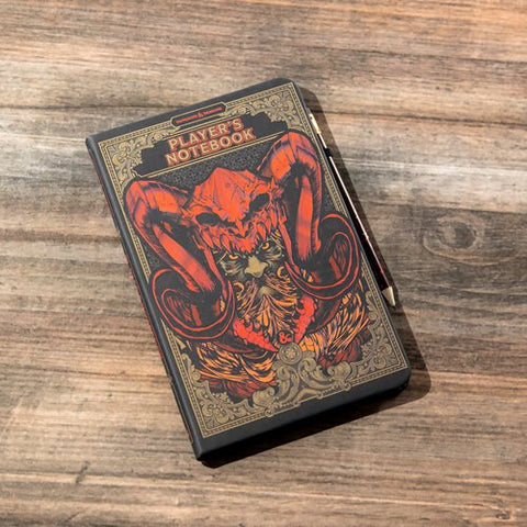 D&D Player's Notebook & Pencil Set