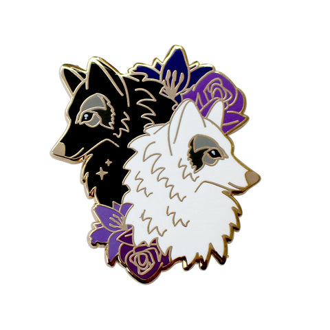 Wolves Enamel Pin