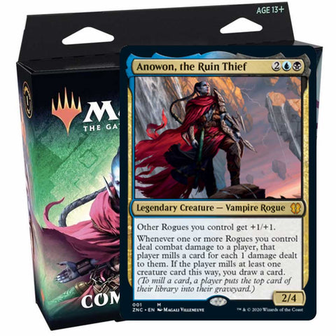 [09/25] Zendikar Rising Commander: Sneak Attack (U/B)