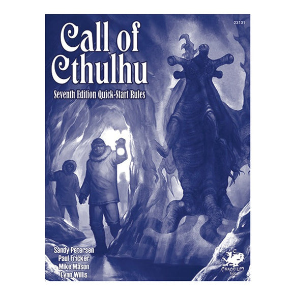 Call of Cthulhu 7E QuickStart Rules
