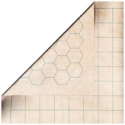 "Reversible Battlemat 1"" Sq/Hex"