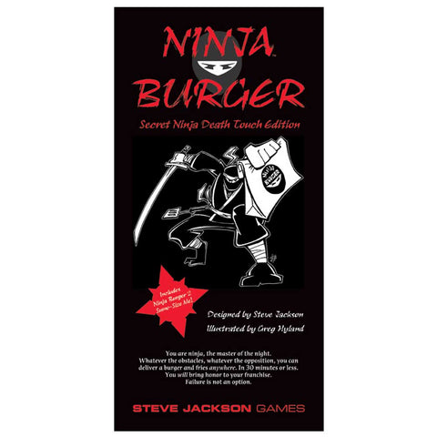 Ninja Burger: Secret Ninja Death Touch Edition