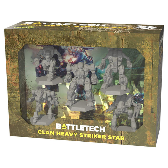 BattleTech: Clan Heavy Striker Star