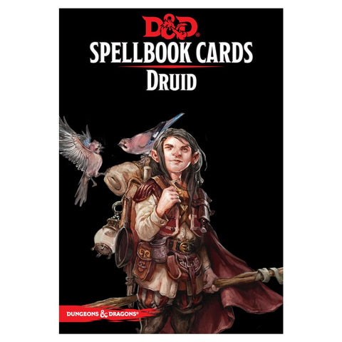 D&D Spellbook Cards: Druid Deck