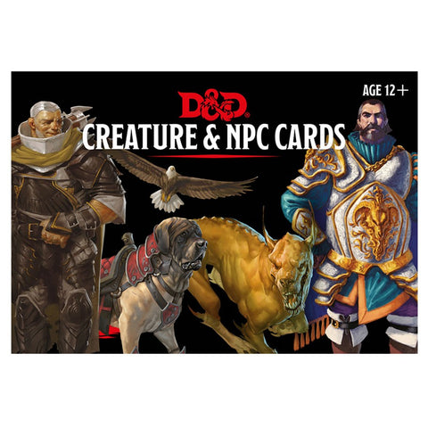 D&D Cards: Creatures & NPC