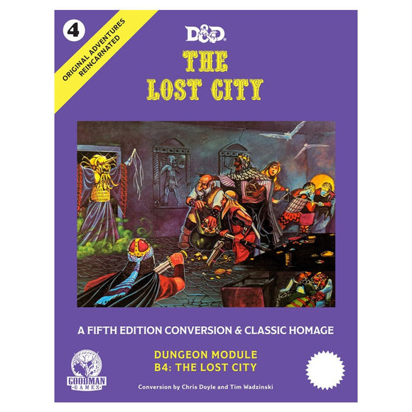 D&D The Lost City 5E