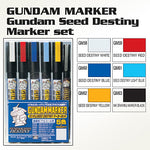 Gundam Marker: SEED Destiny Set 1, 6-Pack