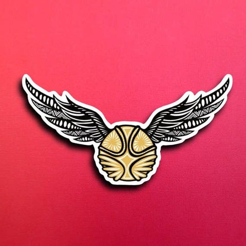 Harry Potter Golden Snitch Sticker