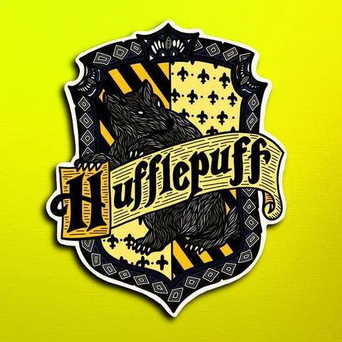 Harry Potter House Hufflepuff Sticker