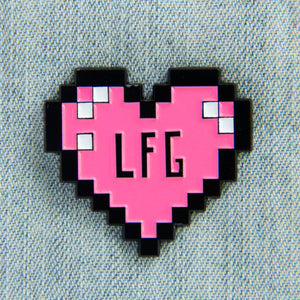 Looking for Group Pixel Enamel Pin