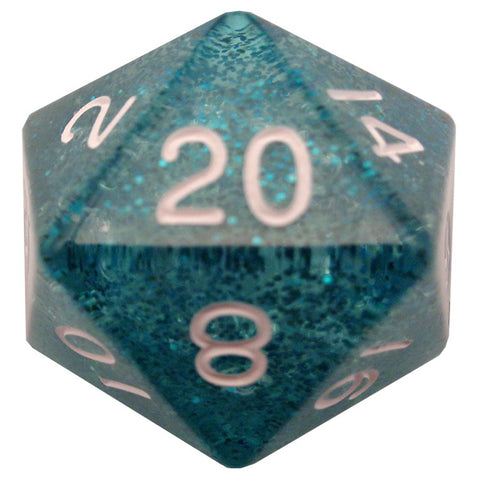 35mm Mega d20, Ethereal Teal