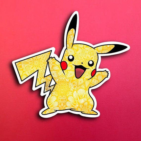 Pikachu Pokemon Sticker