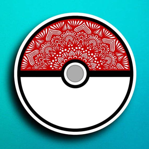 Pokemon Ball Sticker