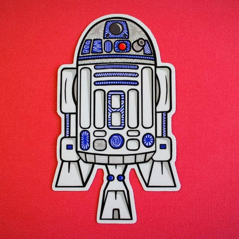 Star Wars R2D2 Sticker