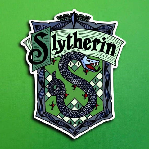 Harry Potter House Slytherin Sticker