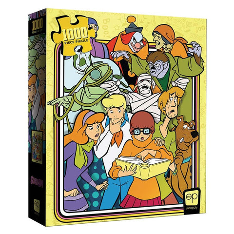 1000-pc Puzzle: Scooby-Doo Meddling Kids