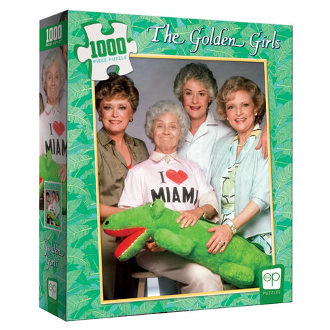 1000-pc Puzzle: The Golden Girls