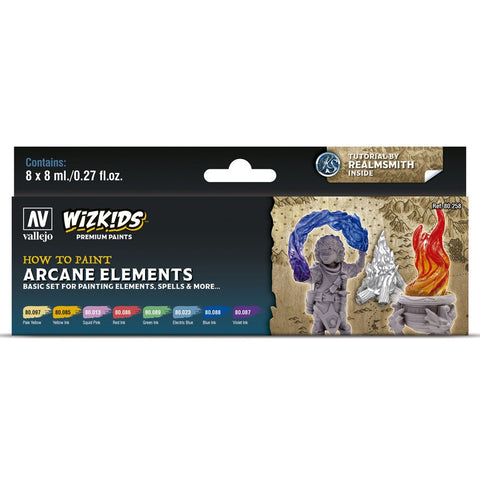 Vallejo WizKids Arcane Elements
