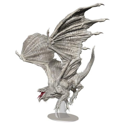 Premium Adult White Dragon
