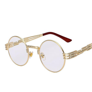 CLASSIC RETRO STEAMPUNK SUNGLASSES