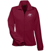 Cloud White OBX Lyfe Women's Fleece Jacket in 11 Colors
