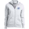 Ocean Blue OBX Lyfe Ladies' Full-Zip Hoodie in 5 Colors