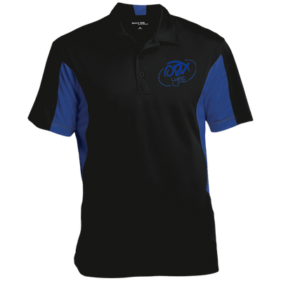 Ocean Blue OBX Lyfe Tall Colorblock Performance Polo in 8 Colors