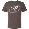 OBX Lyfe White Cloud Men's Triblend T-Shirt in 10 Colors - SALE!  Normally $24.99 - $26.99!!