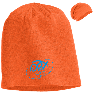 Sky Blue OBX Lyfe Slouch Beanie in 7 Colors