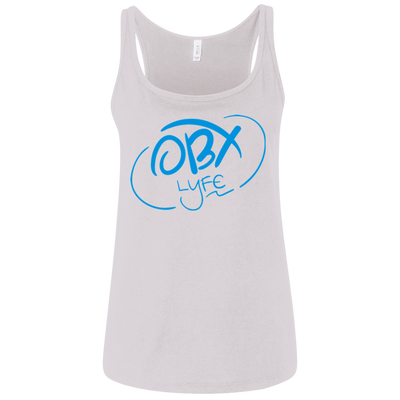 Sky Blue OBX Lyfe Bella + Canvas Ladies' Relaxed Jersey Tank in 6 Colors