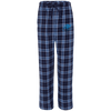 Sky Blue OBX Lyfe Boxercraft Unisex Flannel Pants in 12 Colors