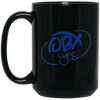 Ocean Blue OBX Lyfe 15 oz. Black Mug