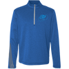 Sky Blue OBX Lyfe Adidas Men's Terry Heather 1/4 Zip in 5 Colors