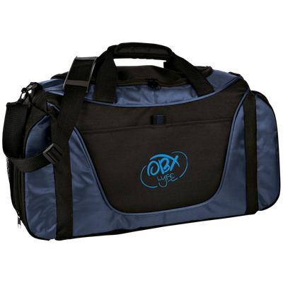 Embroidered Sky Blue OBX Lyfe Port Authority Medium Color Block Gear Bag in 2 Colors