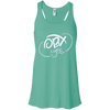 Cloud White OBX Lyfe Flowy Racerback Tank in 12 Colors