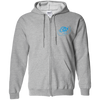 Sky Blue OBX Lyfe Zip Up Hooded Sweatshirt in 15 Colors