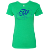 Ocean Blue OBX Lyfe Ladies' Triblend T-Shirt in 7 Colors