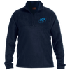 Sky Blue OBX Lyfe 1/4 Zip Fleece Pullover in 6 Colors