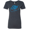 Sky Blue OBX Lyfe Ladies' Triblend T-Shirt in 9 Colors