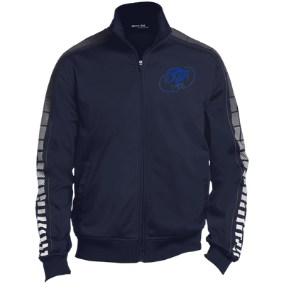 Ocean Blue OBX Lyfe Dot Print Warm Up Jacket in 6 Colors