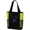 Embroidered Sky Blue OBX Lyfe Port Authority Colorblock Zipper Tote Bag in 6 Colors