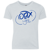 OBX Lyfe Ocean Blue Youth Triblend Crew in 3 Colors