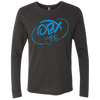 Sky Blue OBX Lyfe Men's Triblend LS Crew in Multiple Colors