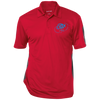 Sky Blue OBX Lyfe Performance Textured Three-Button Polo in 10 Colors