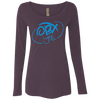 Sky Blue OBX Lyfe Ladies' Triblend LS Scoop in 6 Colors