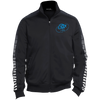 Sky Blue OBX Lyfe Dot Print Warm Up Jacket in 2 Styles