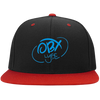 Sky Blue OBX Lyfe Flat Bill High-Profile Snapback Hat