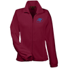 Sky Blue OBX Lyfe Women's Fleece Jacket in 11 Colors